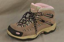womens walking boots size 9 hi tec s lace up boots ebay