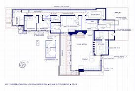 johnson house oberlin ohio frank lloyd wright usonian style