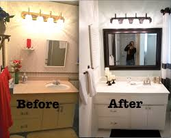 Bathroom Cheap Makeover Bathroom Makeover Ideas On A Budget Chic Cheap Bathroom Makeover