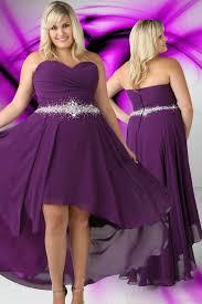 plum wedding dresses cheap purple plus size wedding dresses high low beading