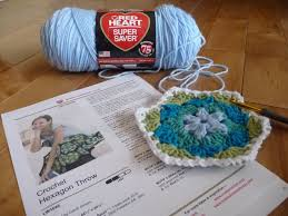 throw by the how to crochet an afghan hexagonal throw by heart
