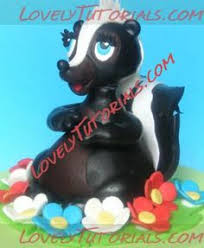 a skunk cake would be pretty cute yummies pinterest cake