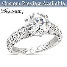 engagement ring engravings engagement ring perfection personalized diamonesk