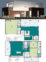 ultra modern live work house plan 61custom contemporary plans with
