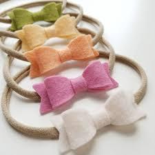 handmade headbands handmade baby bows headbands or forest color