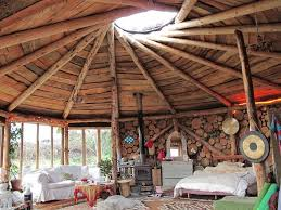 beautiful interior of roundhouse plan it earth natural building blog