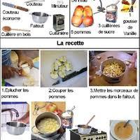 recette cuisine maternelle cuisine la compote de pommes meroute en clis