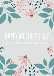 mother s day card designs free printable card template for mother u0027s day