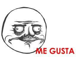 Me Gusta Face Meme - meme9 me gusta memes pinterest troll face internet memes