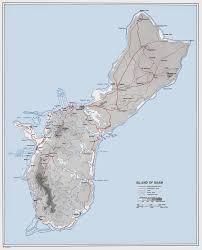 Map Of Guam Standing Firm Corporal Charles Allen Davis Usmc