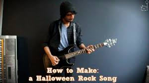 how to make a halloween rock song in 6 min or less full song