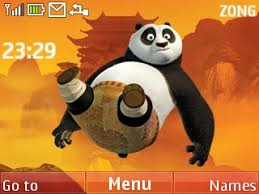 Free Kung Fu Panda 2 Mobile Cell Phone Themes Nokia C3 Themes