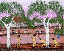 rain dance at pink lake australia sold