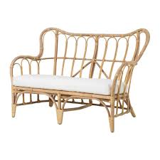 divanetto vimini mastholmen divano a 2 posti da esterno ikea