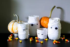 Mason Jar Halloween Canning Jar Mummy Halloween Craft Diy Network Blog Made