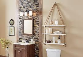 Bathroom Shelves Home Depot Enthralling Bathroom Cabinets Storage Bath The Home Depot At