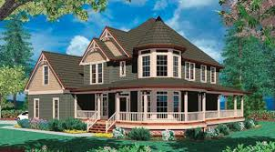 farmhouse plans with wrap around porches home plans wrap around porch trendy farmhouse style homes