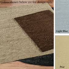 Rugs Only Sculptured Flower Area Rugs