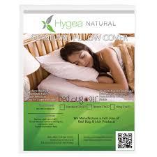 Eco Mattress Topper 2 5 Hygea Natural Hygea Natural Non Woven Bed Bug Proof Standard