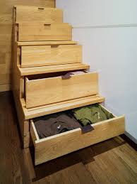 jpda jordan parnass digital architecture stair risers leading the sleeping loft pull open reveal hidden drawers