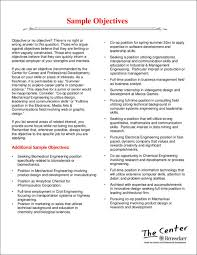 Career Objective For Resume Mechanical Engineer How To Write A Attention Grabbing Career Objective Do U0027s U0026 Don U0027ts