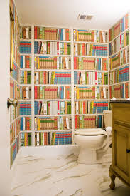 rooms take a page from book wallpaper