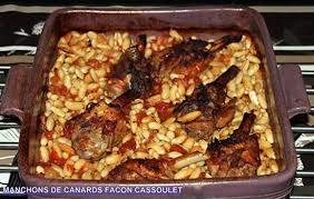 cuisiner manchons de canard recette de manchons de canard façon cassoulet