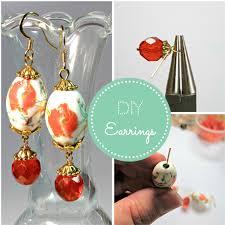 beginner earrings blukatkraft diy earrings jewelry tutorial for beginners