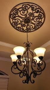 Medallion For Light Fixture Would Totally Go For This If It Was Silver Maybe I Ll Paint It
