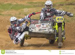 sidecar motocross racing sidecar cross race editorial photography image 20479952