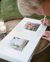 guestbook wedding 46 guest books from real weddings martha stewart weddings