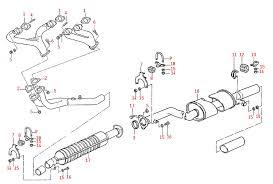 porsche 944 exhaust system paragon products porsche 924s porsche 944 na exhaust system