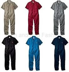 dickies jumpsuit mens dickies 33999 sleeve coveralls black grey khaki
