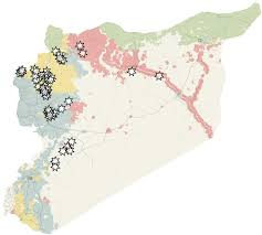 russia football map syria and rebels battle for aleppo as cease collapses the