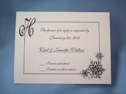 Wedding Invitation Card Wordings Wedding Invitation Reply Card Wording Wedding Response Card