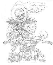 sketch please ghost rider