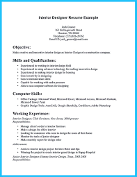 Architectural Resume Sample by Interior Design Resume Sample Resume For Your Job Application