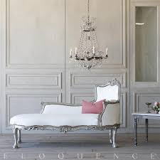french country style eloquence vintage chaise lounge 1940