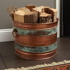 fireplace wood holders andirons firewood racks signature hardware