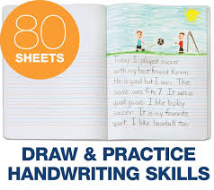 amazon com tops handwriting and sketch journal for primary