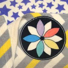 Blue Flag Stars In Circle American Flag Bedding Flag Duvet Cover King Queen Full Twin