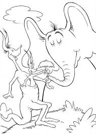 horton hears coloring coloring