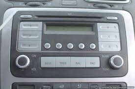 08 09 vw volkswagen eos u003d am fm stereo radio cd mp3 player ebay