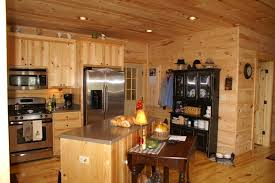log home kitchen design blowing rock kitchen by blue ridge log cabins kitchen