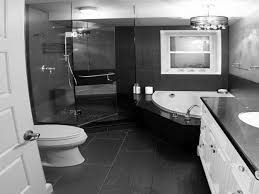 Black White Grey Bathroom Ideas by Black Glossy Wooden Bench Bathroom Ideas Black And White Rectangle