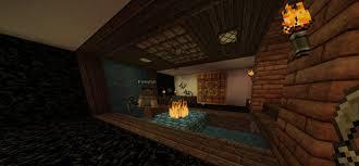 Minecraft Interior Design Living Room Red Brick Stone Interior Wall With Living Room