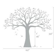 ls that look like trees wall decal family tree wall decal sticker family photo tree