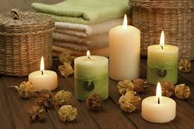 composizione di candele candele fai da te