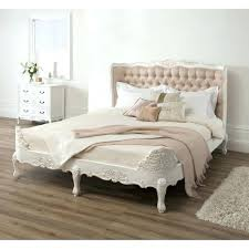 shabby chic king size bed skirt solid mango double white bedroom