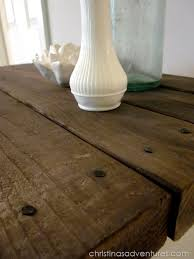 remodelaholic 9 cool wood projects november link party refinished wine rack with diy distressed wood top christinas